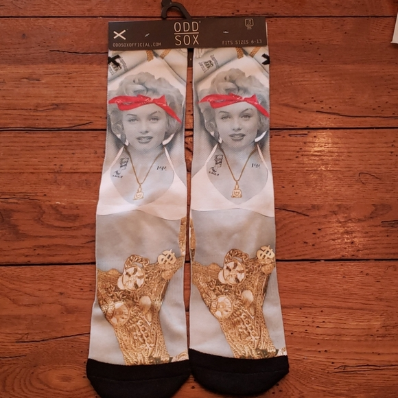 Odd Sox Other - NWT - MARILYN MONROE PDD SOX THUG ANGEL
